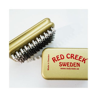 Ultrafine Straight Steel: Gold Hand Brush
