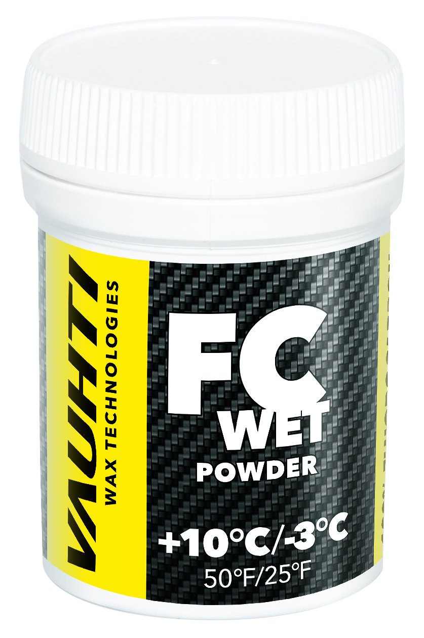 A racing powder for warm snow.