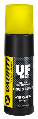 A racing liquid glide wax for wet snow.