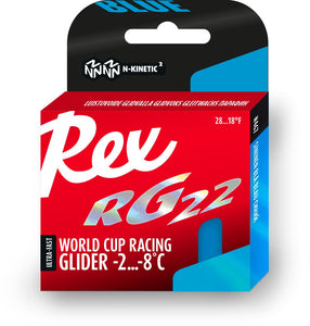 REX RG22 Blue N-Kinetic Non-Fluor Paraffin Glider