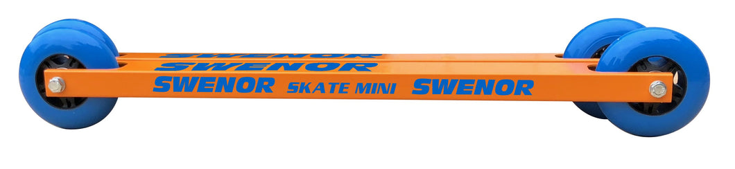 The lightest, shortest, rollerski for kids.
