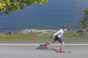 A best-selling fibreglass and wood classic rollerski