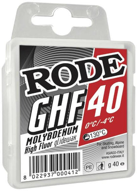 High Fluor Moly Red GHFM-40 Paraffin