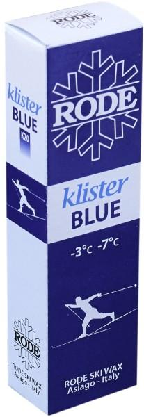 A slightly softer klister for icy snow or for use as a base binder