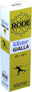 A very soft klister for wet, newer snow.