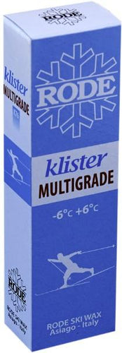 Klister for coarse snow - wet or dry