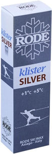 A silver klister for coarse snow, hard-packed dirty snow
