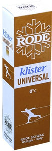 A very soft klister usually for mixing