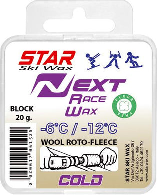 STAR NEXT COLD Fluoro-Free Racing BLOCK