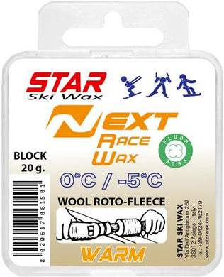 STAR NEXT WARM Fluoro-Free Racing BLOCK