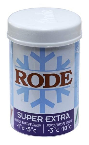 One of the more popular Rode kick waxes for conditions you a guaranteed to come across a few time this winter