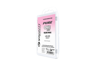 From the Vauhti Fluoro-free PURE line. PURE-LINE ONE MID PARAFFIN An entry-level fluoro-free paraffin for med conditions.