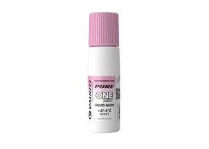 From the Vauhti Fluoro-free PURE line. PURE-LINE ONE MID LIQUID GLIDE An entry-level fluoro-free paraffin for med conditions.