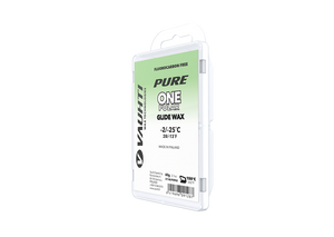 From the Vauhti Fluoro-free PURE line. PURE-LINE ONE POLAR PARAFFIN An entry-level fluoro-free paraffin for very cold conditions.