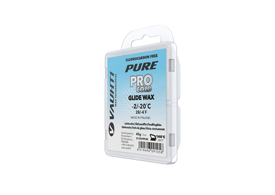 From the Vauhti Fluoro-free PURE line. PURE-LINE PRO COLD PARAFFIN A high-performance fluoro-free racing paraffin for cold conditions.