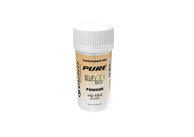 From the Vauhti Fluoro-free PURE line. PURE-LINE RACE LDR POWDER A high-performance fluoro-free racing powder for changing conditions.