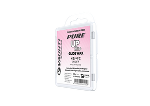 From the Vauhti Fluoro-free PURE line. PURE-LINE UP MID PARAFFIN A performance fluoro-free paraffin for med conditions.