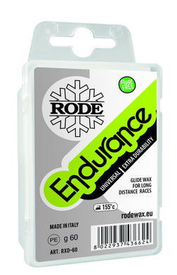 Rode ENDURANCE Non-fluoro Long Distance Paraffin 60g block