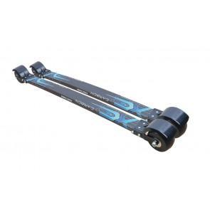Ski*Go Carbon Classic (No NIS plate) Rollerskis 780mm (Hard or Soft) Hard
