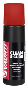 Cleaning and maintenance agent for crown & zero skis. Use when the snow is dirty or wet.