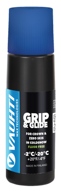 Grip & glide for crown & zero skis in cold snow.