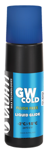 A non-fluorinated liquid glide wax for cold snow.