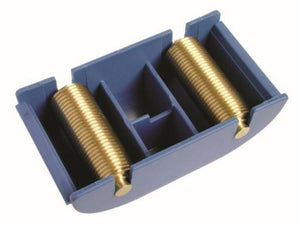 A rill tool with two cross structure rollers.