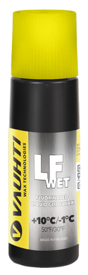 A mid-tier liquid glide wax for wet snow.