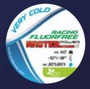 MasterWax RACING FLUORFREE Very Cold