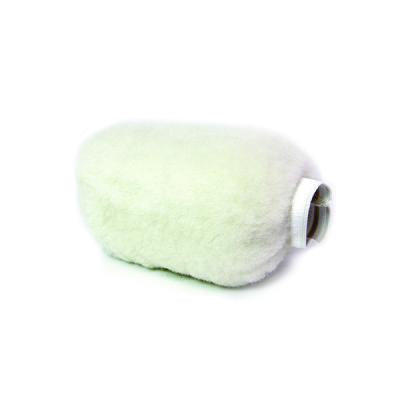 The wool applicator to fleece in cold apply waxes