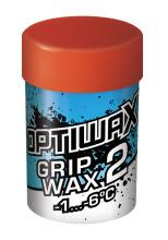 A racing and training wax for colder snow