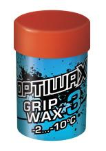 A racing and training wax for cold snow