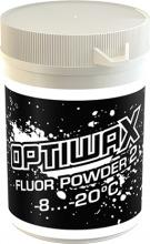 A pure fluoro powder for cold snow and high humidity