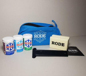 Canada Kick Kit (Rode Zippered Bag: Multigrade Violet, Blue Super, Green, Cork, Scraper)
