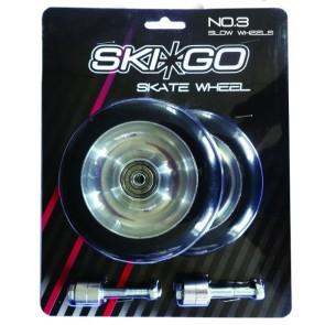 Replacement rollerski wheels for SkiGo skate rollerskis