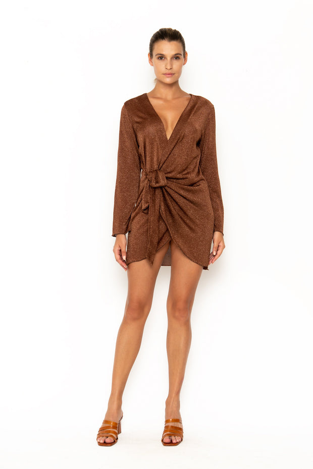 MADEIRA Cinnamon - Wrap Dress