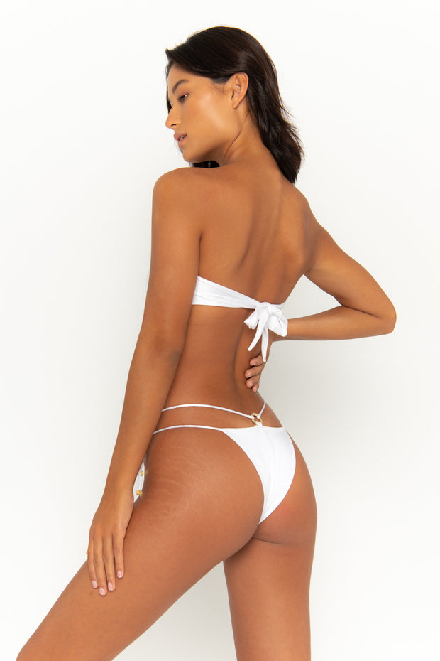 DULCE Bianco - Tie Side Bikini Bottoms