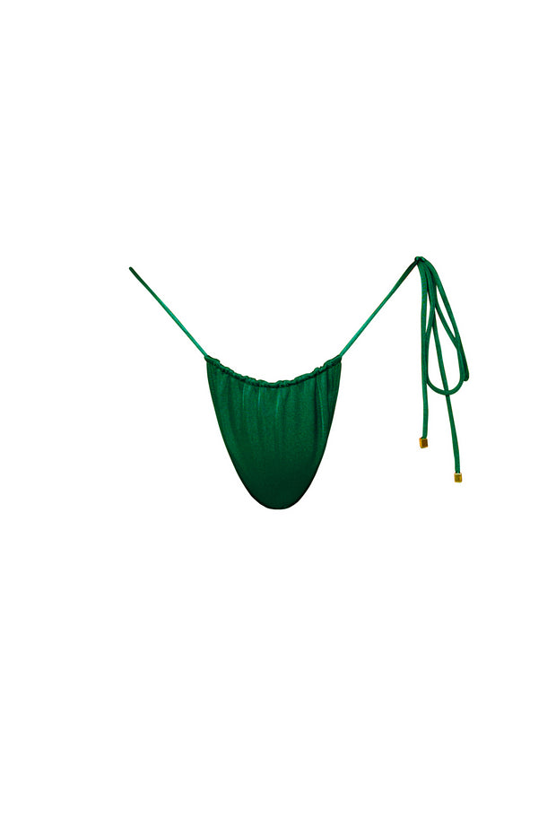 NAOMI Emerald Tie Side Bikini Bottoms