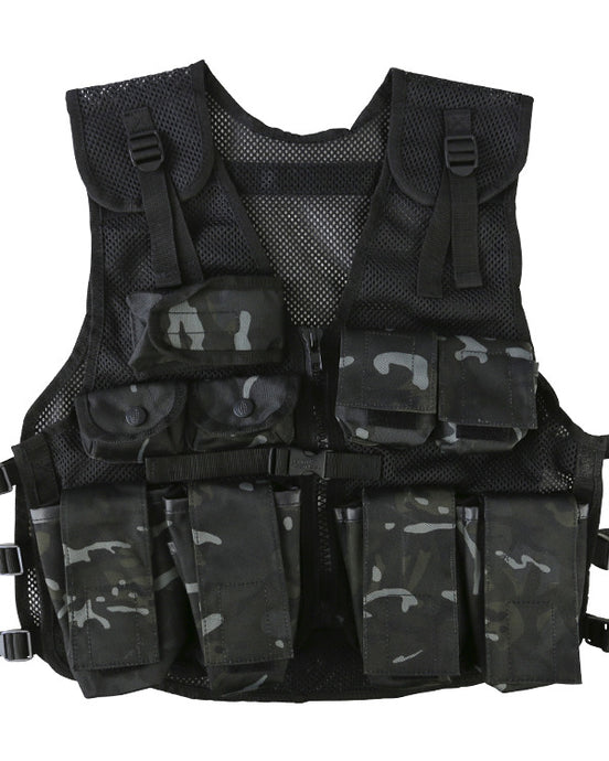 Kids Assault Vest Black