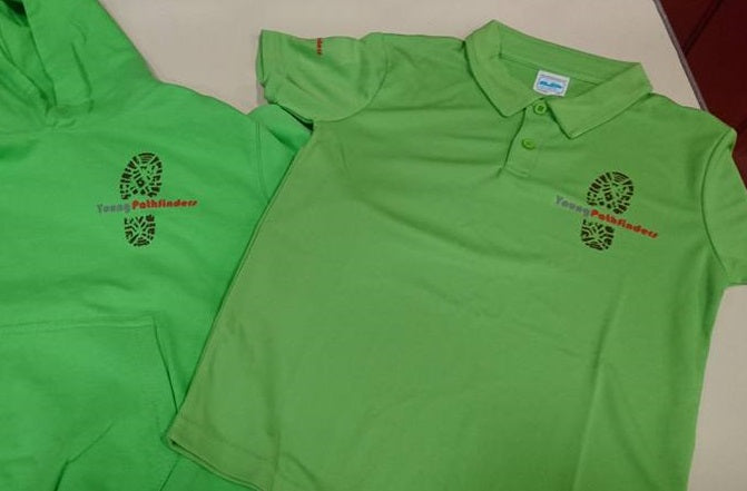 Young Pathfinders Polo Shirts with logo