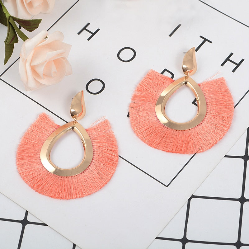 Bohemian Tassel Earrings - Oh My Gawdess
