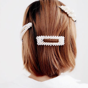Pearls All Day Hair Clips - Oh My Gawdess