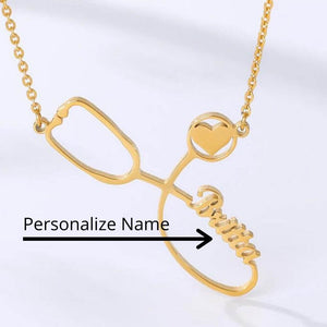 The Scrub Life: Personalized Stethoscope Necklace