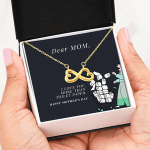 Cheeky Mother's Day Necklace