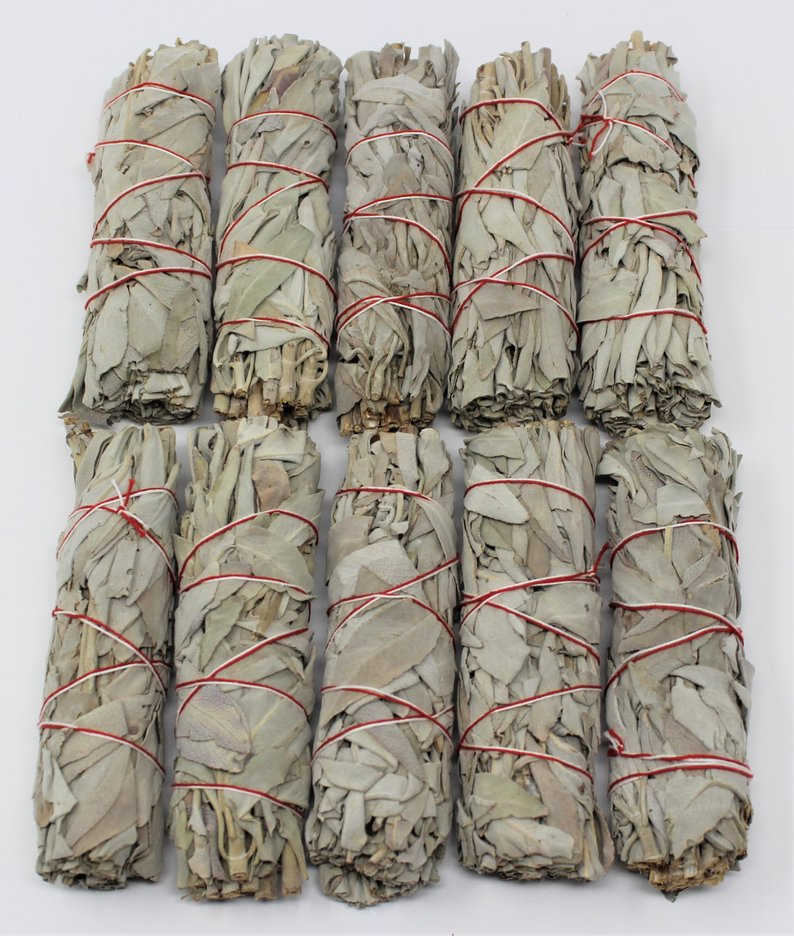 Energy Cleansing White Sage Smudge Sticks - Oh My Gawdess