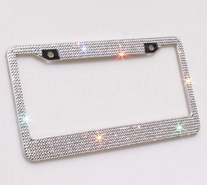 Luxury Diamond License Plate Frame - Oh My Gawdess