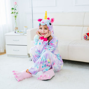 Superstar Unicorn Onesie PJ's for Adults - Oh My Gawdess