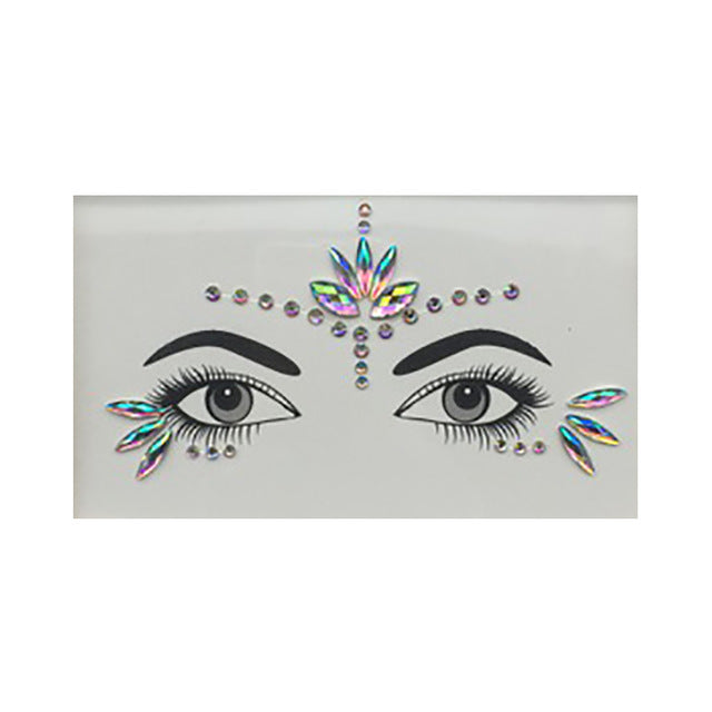 Rhinestone Face Jewels - Oh My Gawdess