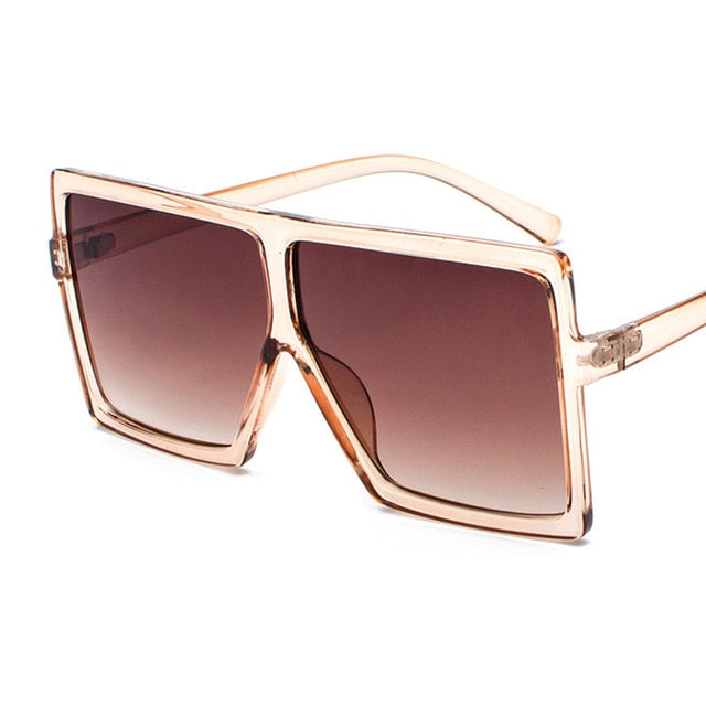 Square Away Oversized Sunglasses - Oh My Gawdess