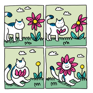 Card Set - Cat vs. Flower